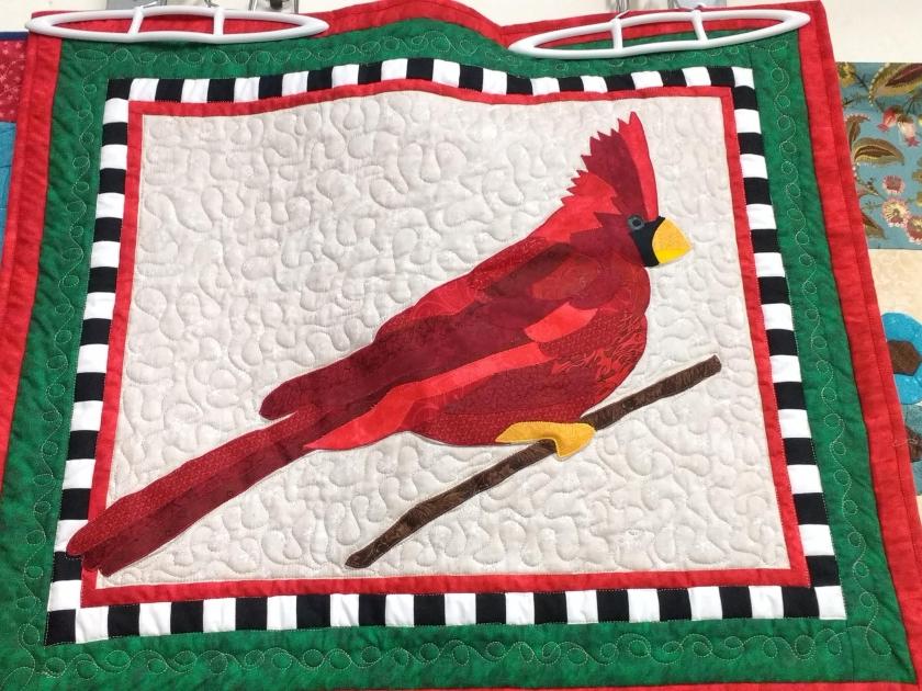 Sarah Burton - Cardinal Wall Hanging