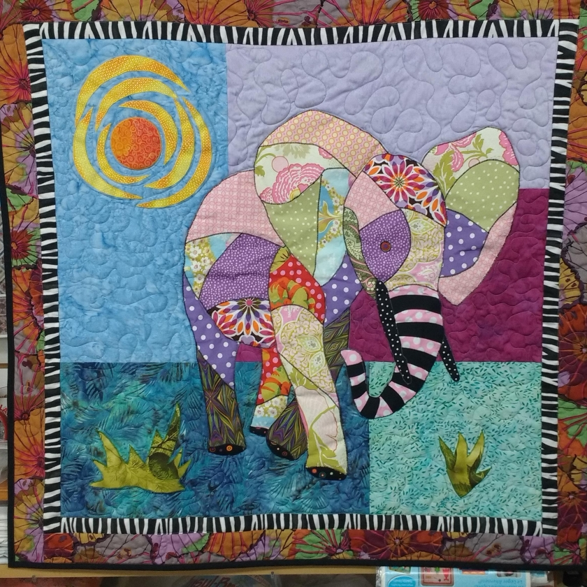 Sarah Burton - Elephant Wall Hanging
