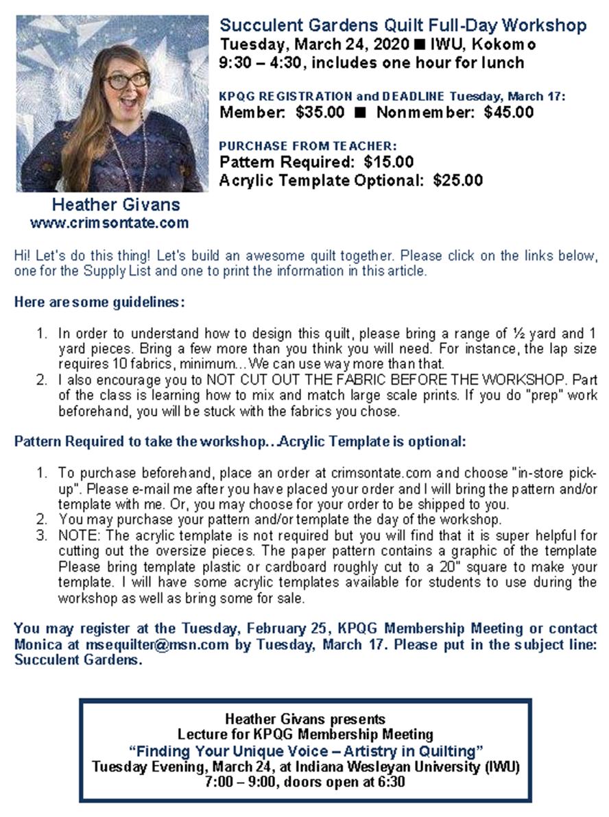 Heather Givans - Workshop Info PNG